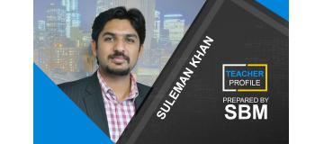 ACCA Teacher Profile Suleman Khan SBM