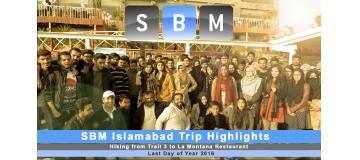 SBM Hiking Trip Highlights Trail 3 to La Montana