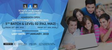 Admissions are open in FD batch 05 and level 02