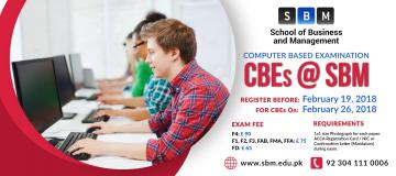 Register before 19 Feb for CBE exam on 26 Feb, 2018