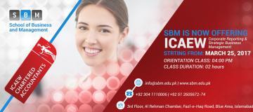 SBM is now offering ICAEW classes