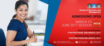 ACCA's March to June 2017 Session Starting from 18th March
