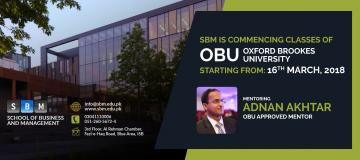 SBM is commencing classes of OBU
