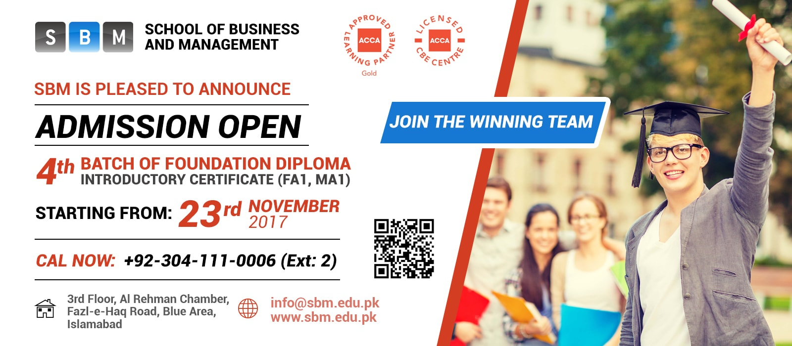 4th Batch of FD (FA1, MA1) starting from 23rd Nov 2017
