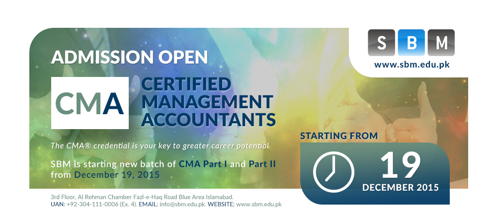 SBM offers new batch of CMA Part 1 and Part 2