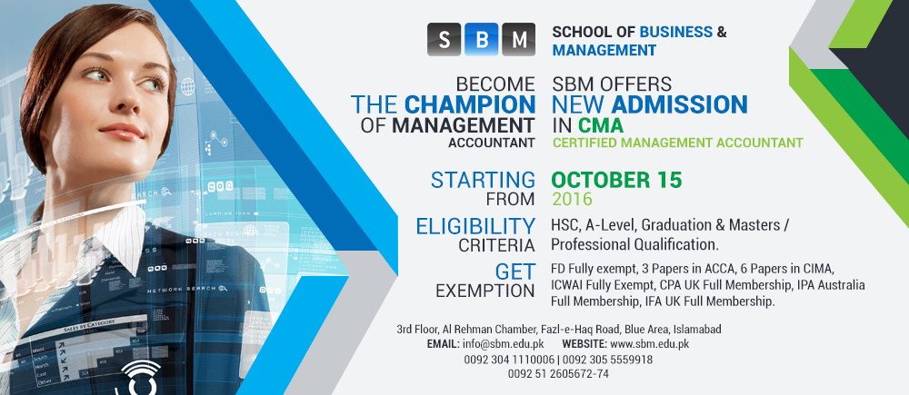 CMA starting from 15 October