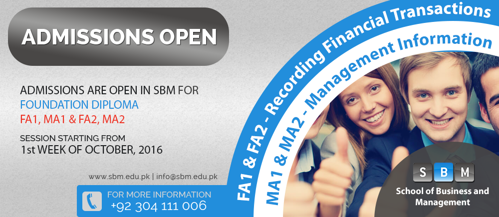 SBM Announces Admissions in Foundation Diploma