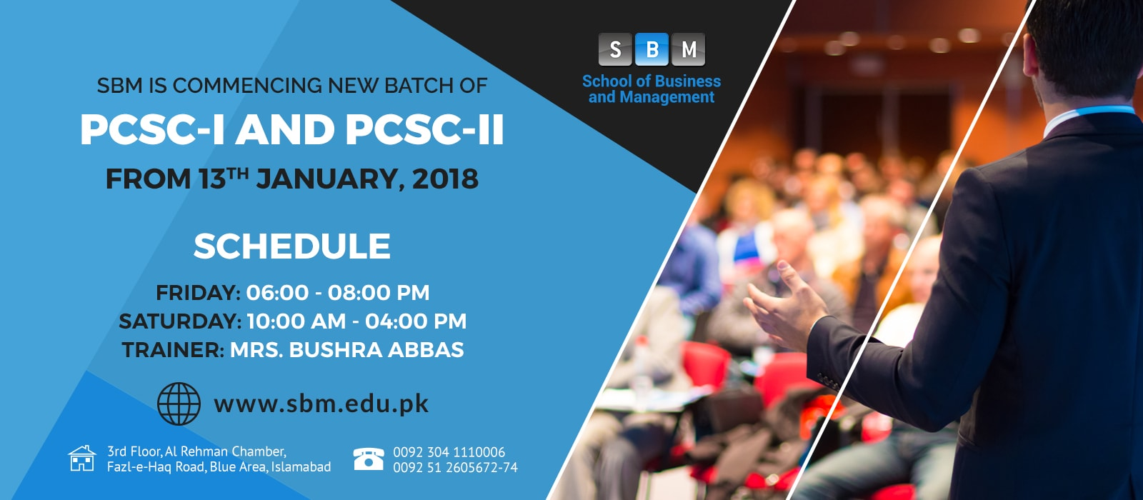 PCSC-I & PCSC-II Starting from 13 January