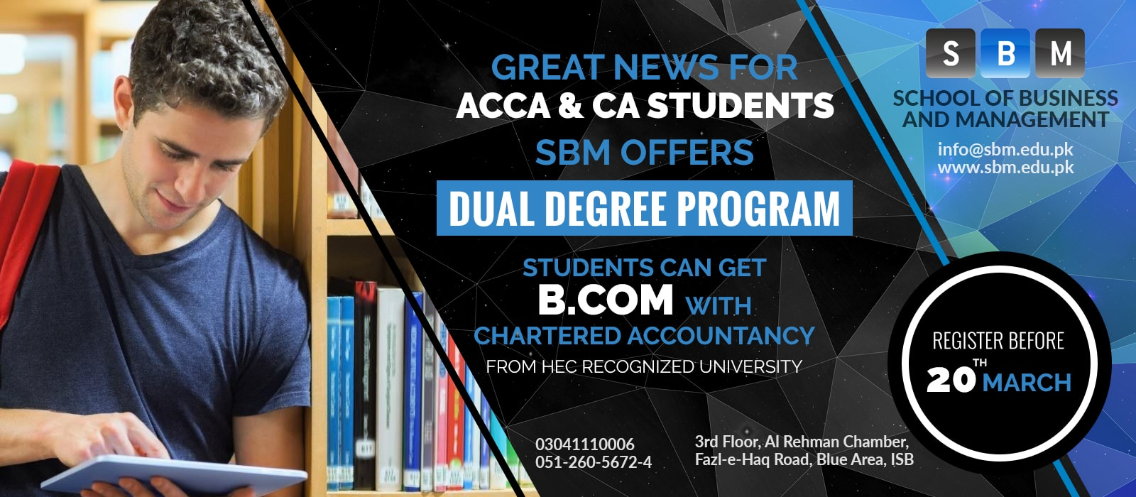 Get B.COM degree along with your Chartered Accountancy